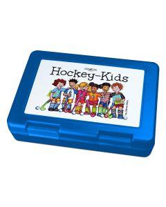 """Hockey-Kids All Stars"" Brotdose Lunchbox Blau"