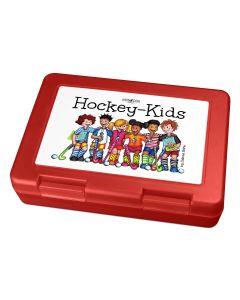 """Hockey-Kids All Stars"" Brotdose Lunchbox Rot"