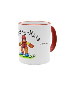 """Hockey-Kids Goalie"" Tasse Color"
